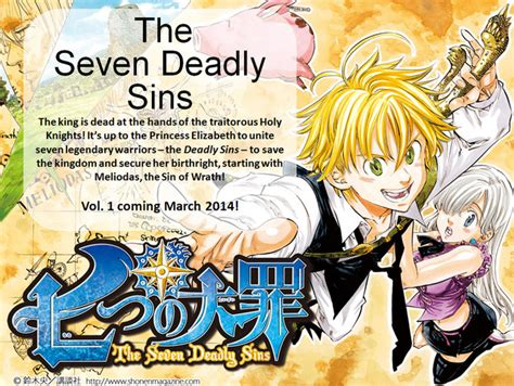 the seven deadly sins 24 seven deadly sins the crunchyroll quot the seven deadly sins quot anime listed for october