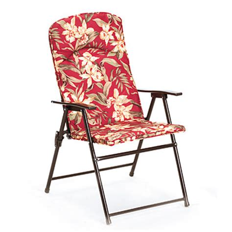 view wilson fisher 174 folding floral padded chair deals at