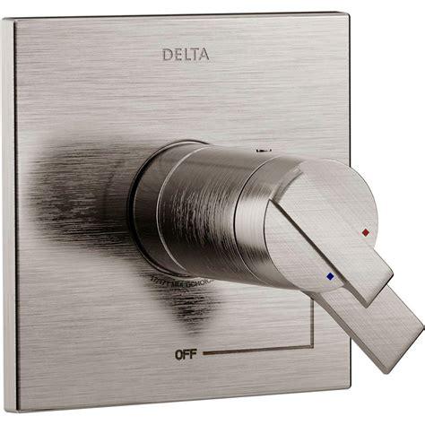 Delta Shower Faucet Temperature Repair by Delta Linden 1 Handle 3 Function Shower Diverter Valve