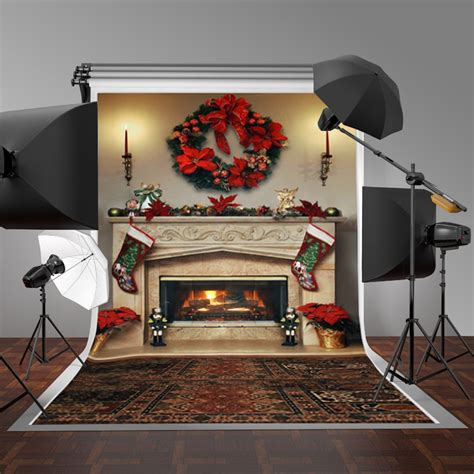 Fireplace Photo Backdrop by 7x5ft Fireplace Photography Backdrop Vinyl