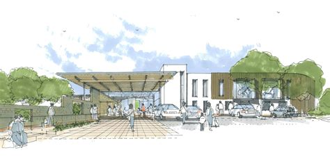 design concept health center aneurin bevan university health board caerphilly