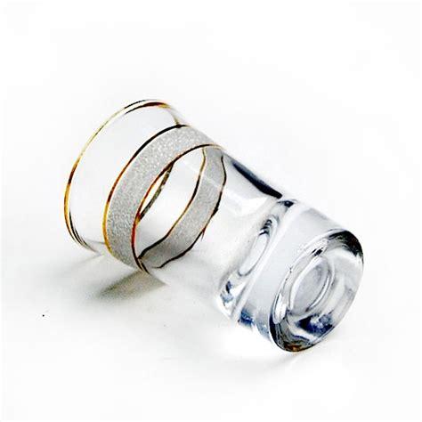 fabbrica bicchieri vetro cina gold vendita calda bicchieri oro bicchieri di