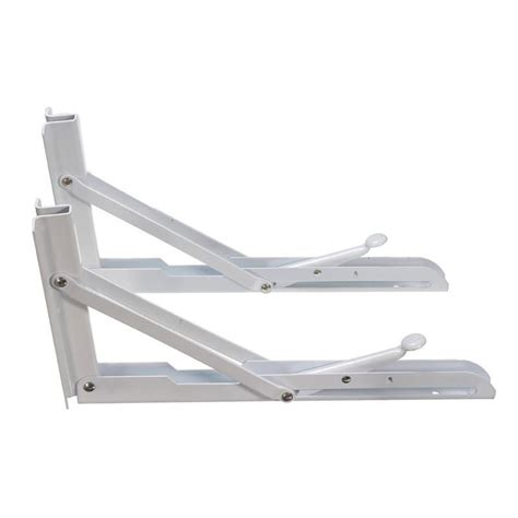 folding bracket for tables and benches 2pcs folding bracket triangular metal release catch