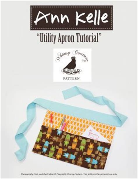 pattern for utility apron download utility apron pdf sewing pattern sewing pattern