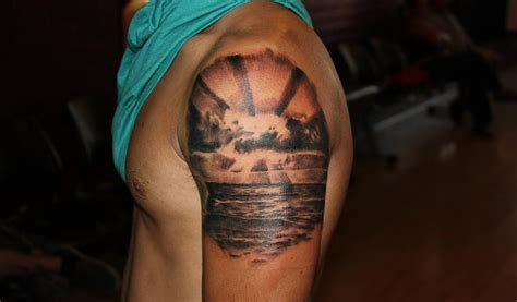 sunset tattoo sunset tattoos designs ideas and meaning tattoos for you