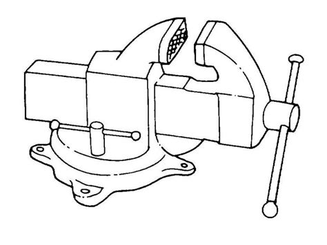 bench vise drawing bench vise drawing baby shower ideas