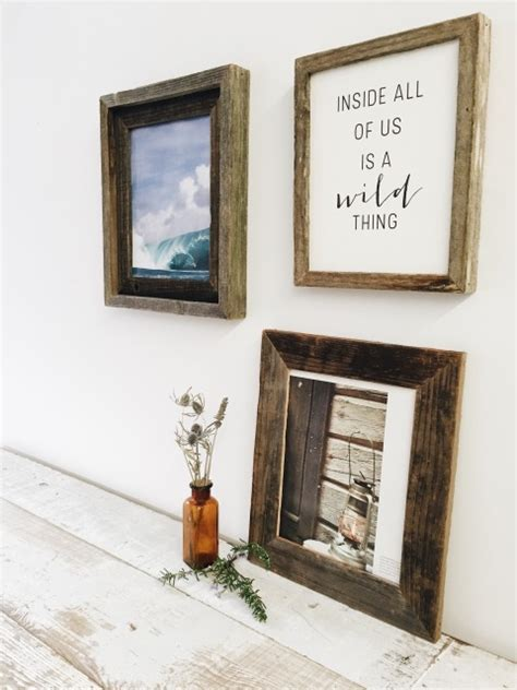 28 X 32 Picture Frame by Reclaimed Wood Gallery Picture Frame 8x10
