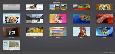 new themes imovie how to apply imovie themes to a video project dummies