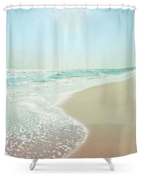 beach style shower curtains good morning beautiful sea shower curtain beach style