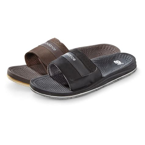 slide in sandals new balance s purealign slide sandals 655868