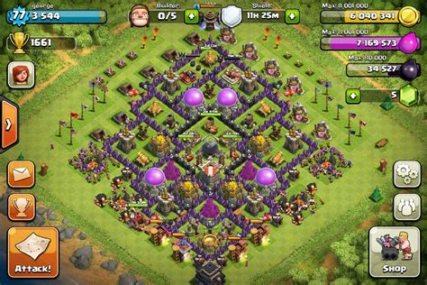 coc layout attack simulator coc best th9 attack strategy myideasbedroom com