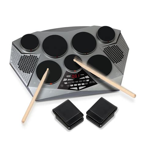 Drum Digital pyle electronic drum set pad with built in