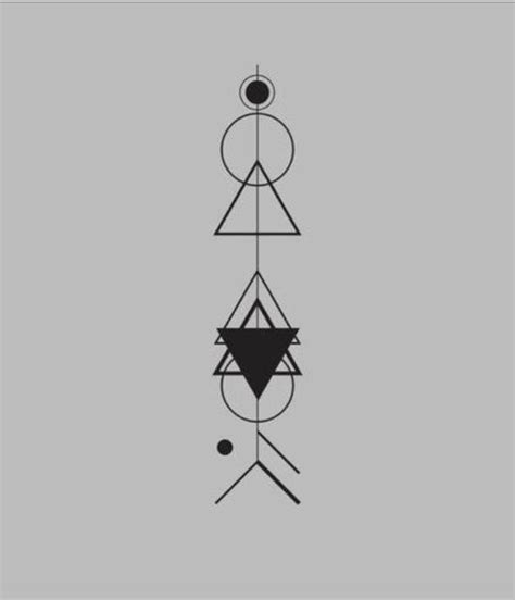 geometric pattern meanings arrow tattoo geometric tattoo ink pinterest spinal