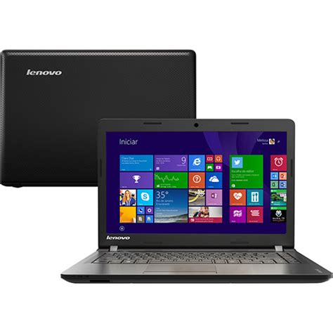 Lenovo Ideapad 100 14iby notebook lenovo ideapad 100 14iby intel celeron dual 2gb 500gb led 14 quot windows 8 1 preto