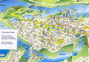 canada vancouver map greater vancouver map