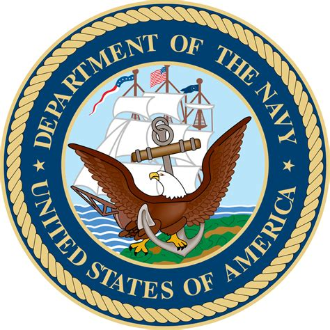 Navy Search File Seal Of The United States Department Of The Navy Svg