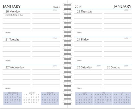 calendar diary format preference collection planner refills 2018 sun graphix