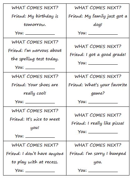 Social Skill Worksheets by 1000 Images About Social Skills Lessons On