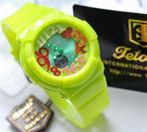 Jam Tangan Sport Wanita Fujitec Digital Water Resist Premium 2 jam tangan sport pria wanita water resistant 2 model