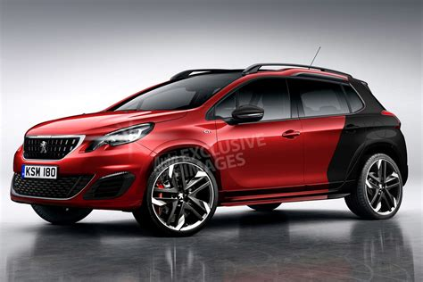 peugeot  tail light hd image  car release news
