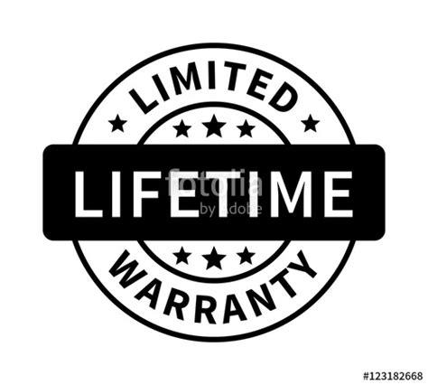 lifetime warranty logo quot limited lifetime warranty badge seal st or label