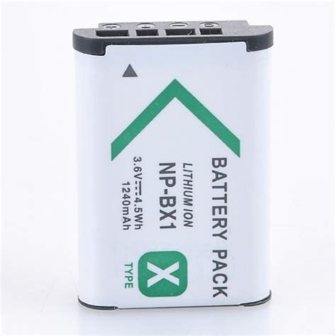 Sony Battery Np Bx1 1240mah np bx1 akku f 252 r sony cybershot dsc rx100 batterry 1240mah