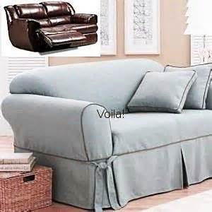 Reclining Sofa Slip Covers Sure Fit Reclining Sofa Slipcover Basketweave Texture Recliner Slip Cover For The Home