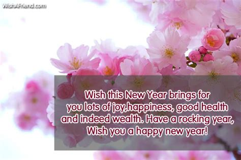 new year wish you health new year messages page 1