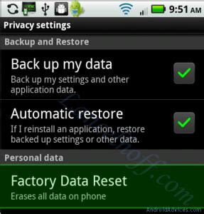 android factory reset software download how to reset android to increase space speed android