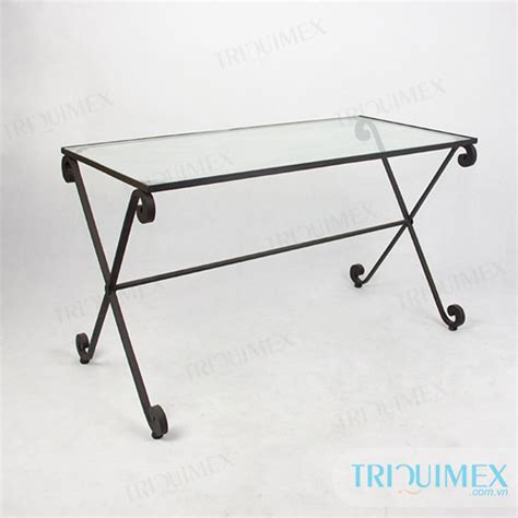 wrought iron dining tables wrought iron rectangular dining table from triquimex