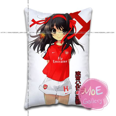 Haruhi Pillow by Haruhi Suzumiya Haruhi Suzumiya Standard Pillows Covers A