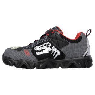 gray light up shoes skechers boy s luminators datarox extinct black gray light