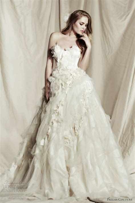 Wedding Dresses Couture by Pallas Couture 2013 2014 Wedding Dresses Wedding Inspirasi