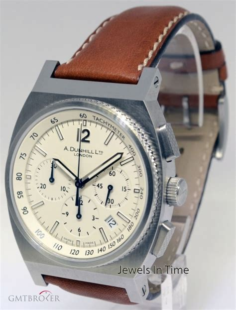 alfred dunhill dunhill rpm steel chronograph automatic