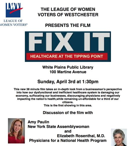 fix it healthcare at the tipping point top documentary fix it wespac foundation