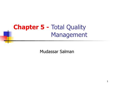 Total Quality Management Pdf For Mba by Total Quality Management Tqm