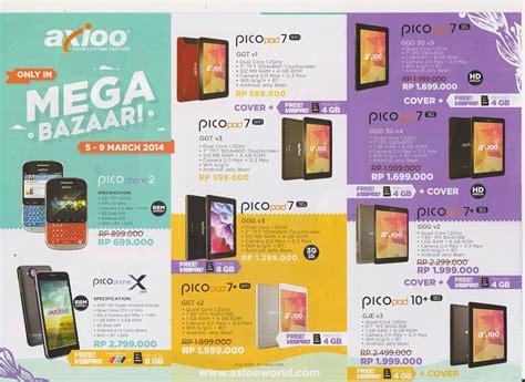 erafone fonepad 8 mega bazaar consumer show 2014 promo murah smartphone