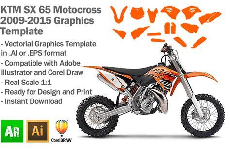 mx graphic templates ktm sx 65 mx motocross 2009 2010 2011 2012 2013 2014 2015