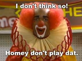 homie the clown in living color tv land