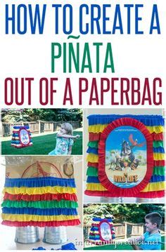 How To Make A Paper Bag Pinata - 1000 images about birthday on