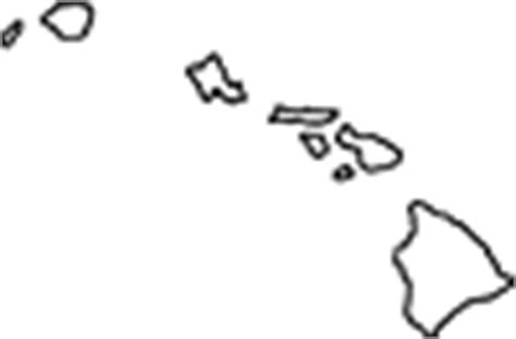 coloring page map of hawaii 002000qugo map hawaiian islands outline