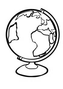 globe coloring page globe coloring pages getcoloringpages
