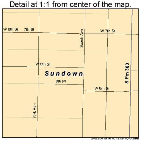 sundown texas map sundown texas map 4871060