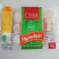 steamboat cedea situs belanja  frozen food terbaik