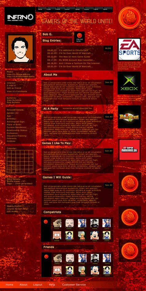 html design concepts web design concepts infrno web concepts jwe creative