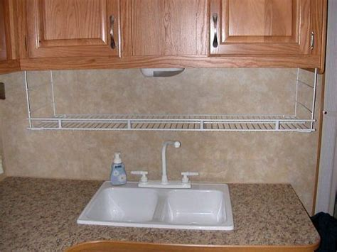 Wire Shelves For Kitchen Cabinets Wire Shelf For Kitchen Suspended From Cabinets 5th Wheel Ideas Pinterest Cing Stores