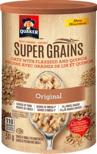 whole grain quaker oats quaker 174 grains cereal quakeroats ca