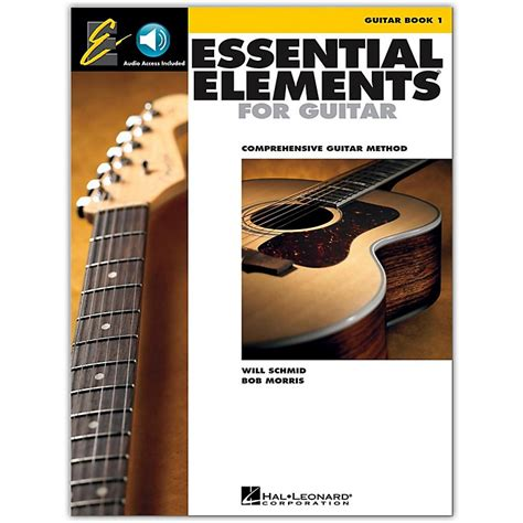 essential elements to include in hal leonard essential elements for guitar book 1 book