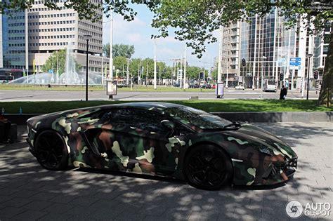 camo lamborghini aventador lamborghini aventador with jungle camouflage wrap