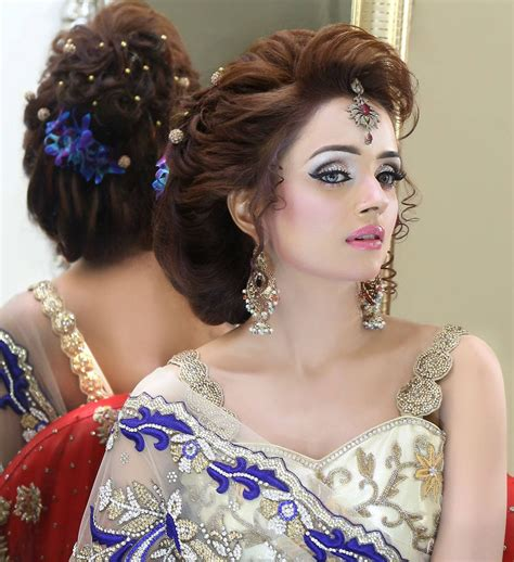 loose hair styles for long hairs for pakistani wedding pakistani wedding hairstyles latest bridal trends for long